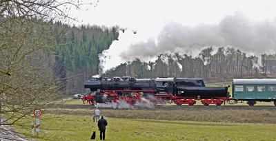 Fotozug für Bahnfans