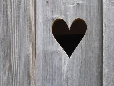 Häuschen mit Herz
