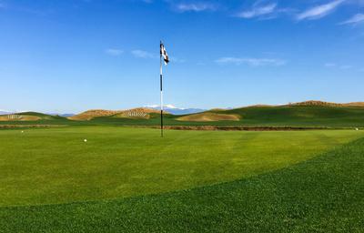 Golfers Links-Course in Belek (Lykia)
