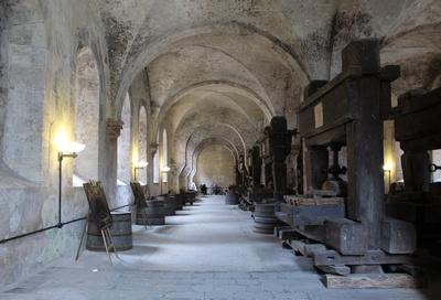 Weinbau des Mittelalters im Kloster