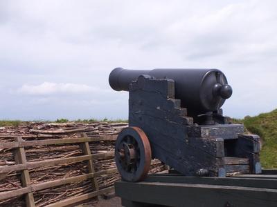 Schweres Geschütz um 1864