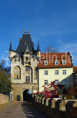 Burgtor der Albrechtsburg