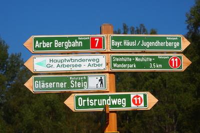 Unterwegs am Arber