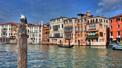 Venedig - am Canale Grande