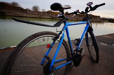 Fahrradtour am Kanal