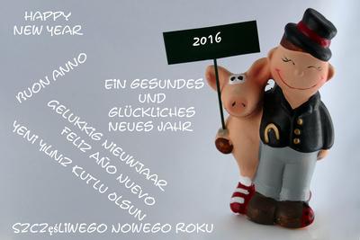 Weihnachts-und Silvesterwünsche 7 Sprachen