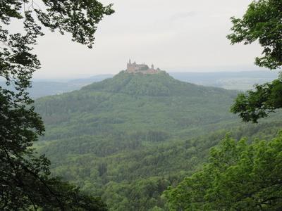Beeindruckende Burg Hohenzollern