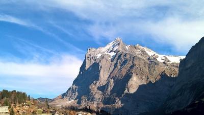 Grindelwald mit Berg (Winterhorn)