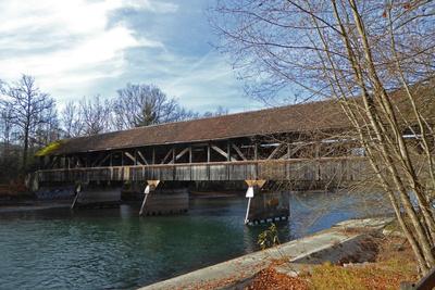 Auguetbrücke über die Aare
