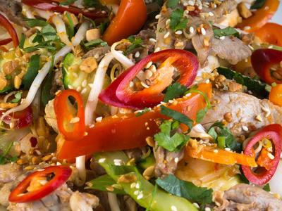 asiatisches Fleischgericht 4
