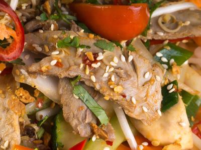asiatisches Fleischgericht 5