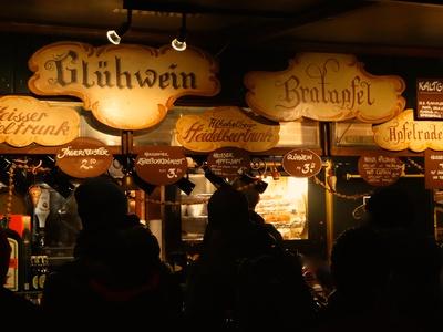 Glühwein, Bratapfel & Co