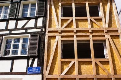 Straßburg - Altstadtrenovierung