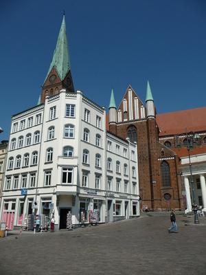 Dom Schwerin und Marktplatz