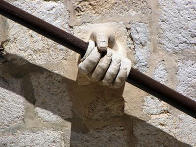 Treppenaufgang in Dubrovnik