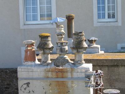 schornsteine in St. Malo