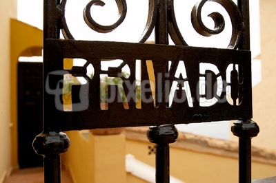 Privado - Privat spanisch