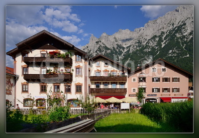 Blick aufs Karwendel / Mittenwald