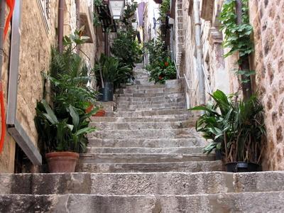 Altstadtgasse in Dubrovnik