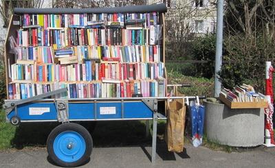 Bücherkarre