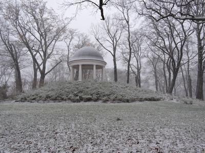 Jugendtempel Schwerin im Winter