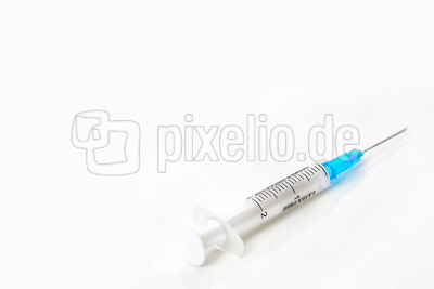 Spritze für Injektion