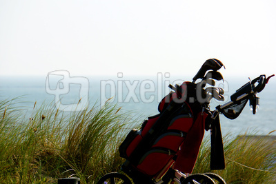 Links-Golf am Meer