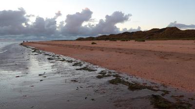 Fanö - Strand im Abendlicht