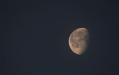 Der Mond zum Jahreswechsel 2015 - 2016