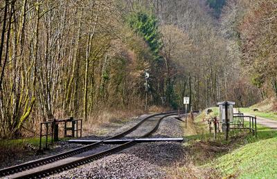 Romantische Bahnlinie . . . .