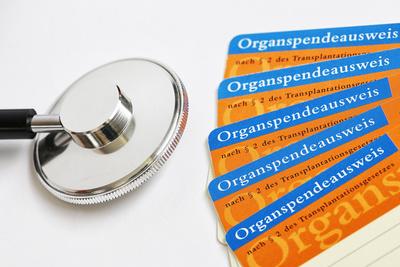 Organspendeausweise