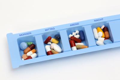 Medikamente bei Tag und Nacht