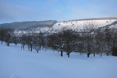 Winter im Altmühltal