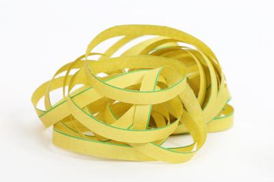 Luftschlange gelb