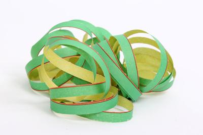 Luftschlange grün