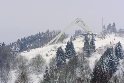 Die Skisprungschanze Winterberg . . . . .