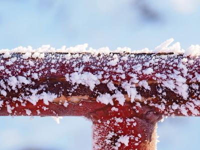 gefroren hat es heuer