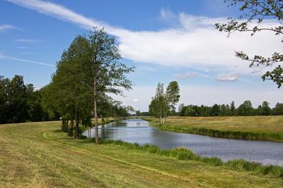 Flusslandschaft Spreewald