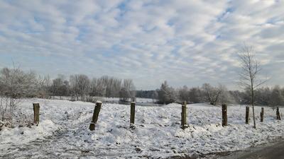 Schneelandschaft mit Ellisee