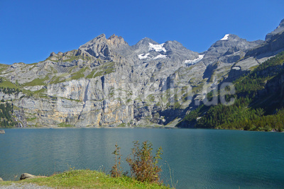 Sommer am Öschinensee (Schweiz)