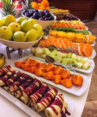 Vitaminreiches Früchte-Büffet