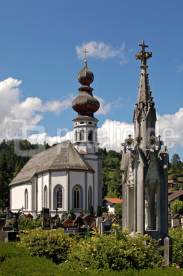 Mittenwald - Friedhofskirche Sankt Nikolaus