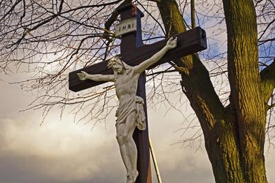 Wegekreuz, Wegemale mit christlichen Motiven