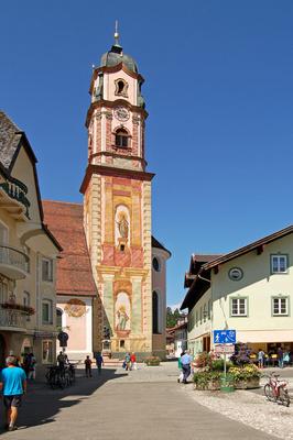 Mittenwald - Kirche Sankt Peter und Paul