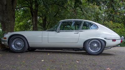 Jaguar E-Type Seitenansicht