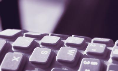 Tastatur gebogen