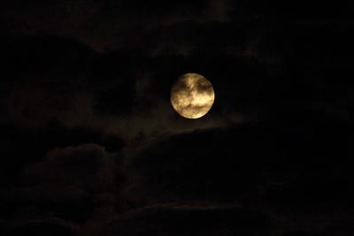 Gesicht im Mond