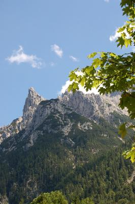 Mittenwald - Ortsmitte - Karwendel
