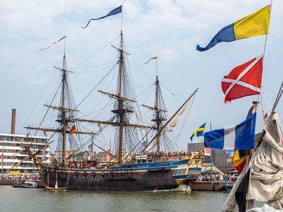 Großsegler auf der Sail
