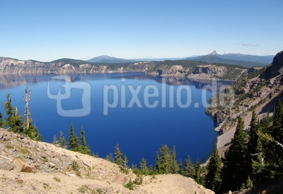 Crater Lake , Oregon